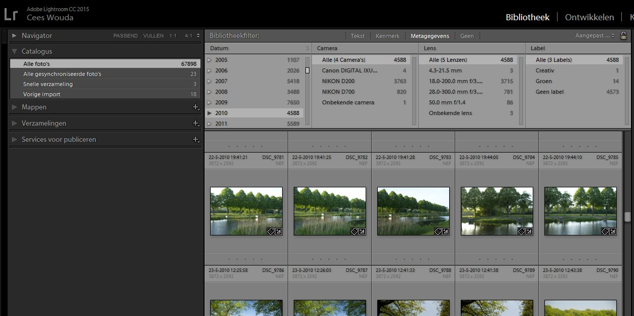 lightroom-bibliotheekfilter